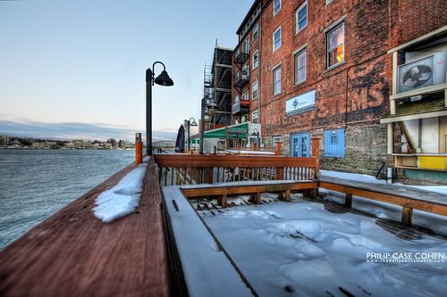 Snow Decks by Philip Case Cohen