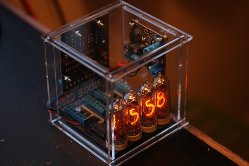 Nixie Clock Case | by Adam Greig