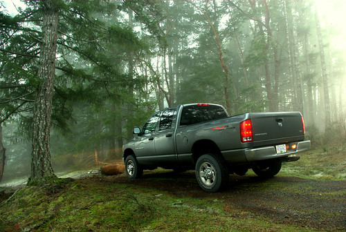 Dodge Ram in the wilderness | by footloosiety
