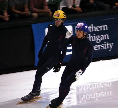 Apolo Ohno Olympic Trials