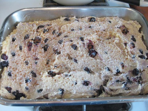 Dick Brook's Blueberry Cake | by colorkitten