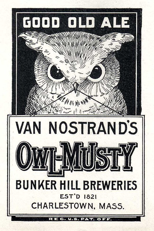 Van Nostrands Owl-Musty Ale-1906