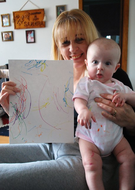 Rose and Her Drawing
