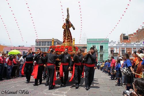 """DSC00394 XIX Procesión de Viernes Santo, """"Jesús Nazareno"""" (de San José) en Puebla por LAE Manuel Vela"""