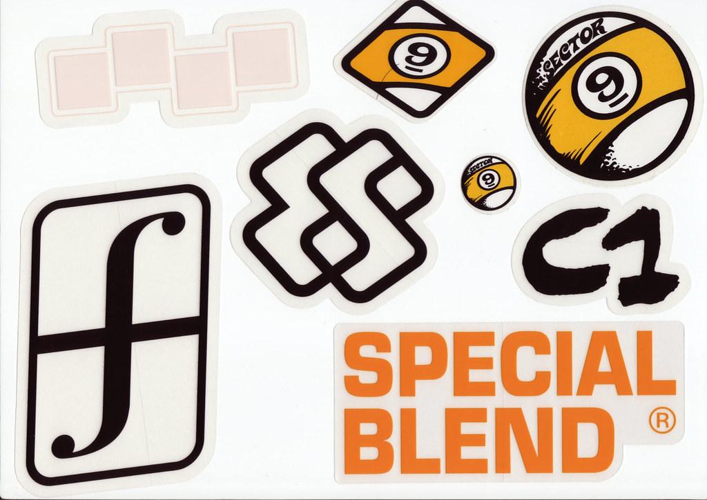 Skateboard Company Stickers