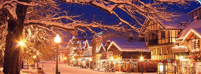 Leavenworth Washington Christmas.Leavenworth Washington Christmas Lighting Dale Susan