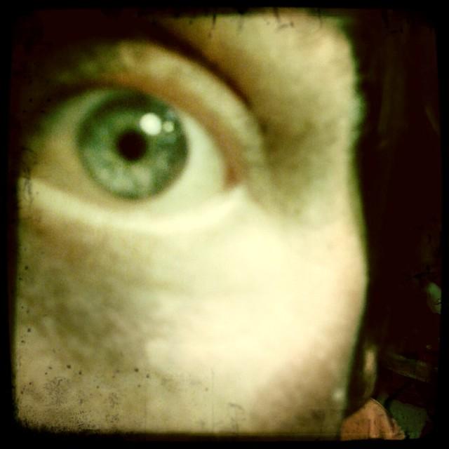 Hipstamatic eye