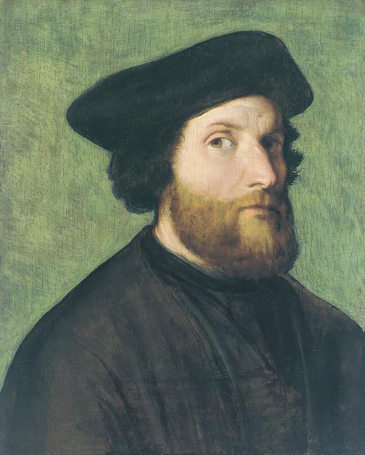 Lorenzo Lotto – Self-Portrait  (about 1540)