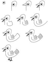 Vogel Tekenen Dododedameiscool Flickr