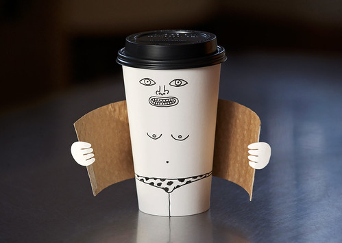 Exhibitionist coffee cup | by Laser Bread
