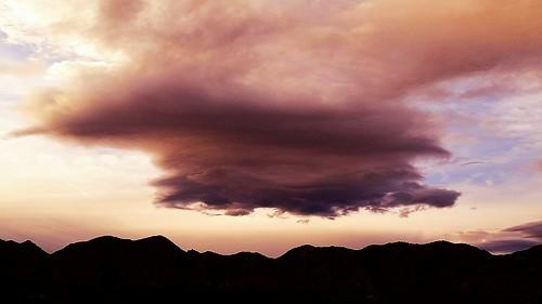 clouds sky sunset nature desert highdesert beauty paintedclouds amazing imthinkingoutloud
