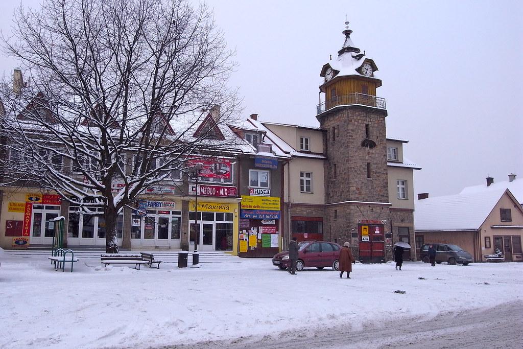 Śnieg na Rynku / Snow in Main Street