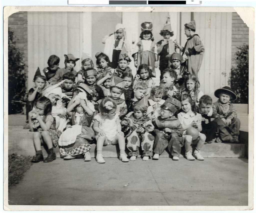 Halloween party for the pre-kindergarten class at the Jewish Educational Center