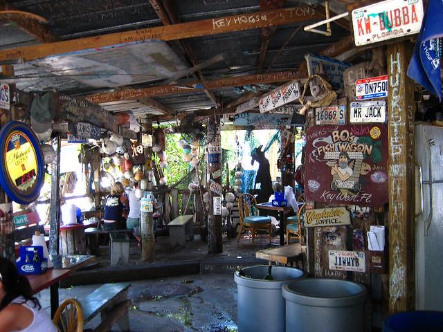 B O S Fish Wagon Seafood Restaurant Key West Fl Flickr