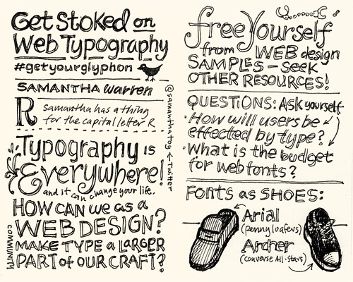 SXSW Interactive 2010: Get Stoked on Web Typography | by Mike Rohde