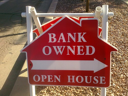 "Bank owned homes - A ""sign of the times?"" 