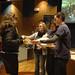 Vie, 27/11/2009 - 15:24 - Momento da entrega dos diplomas aos participantes na Galiciencia 2009.