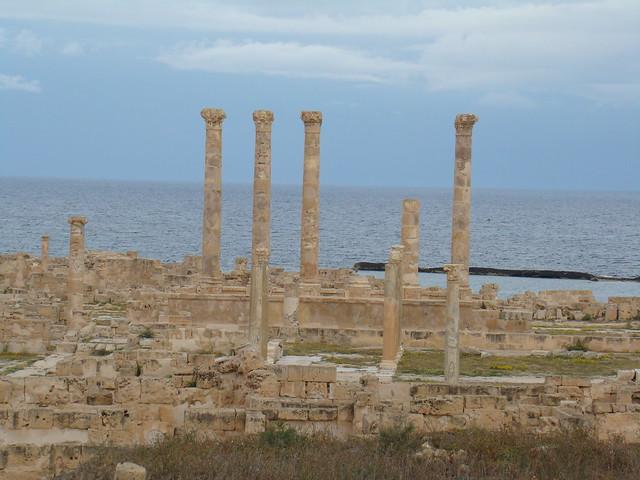 Templo de Liber Pater y Foro Sabratha Libia 05