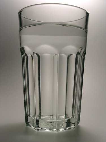 Glass of water. | by by claire