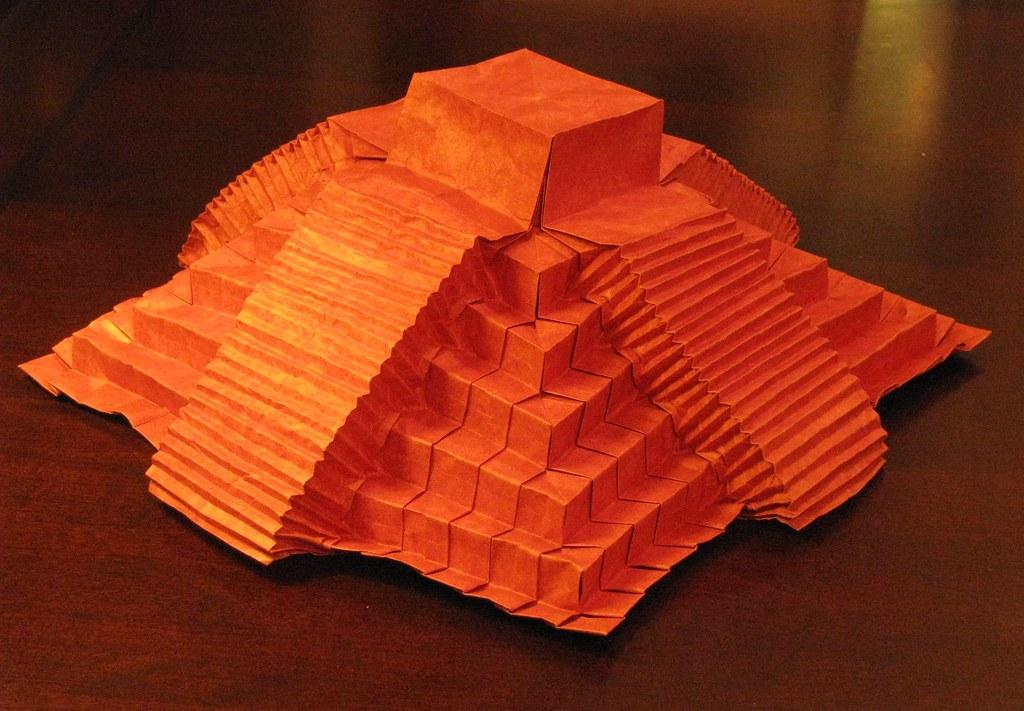 Monolithic rubblestone boulder. Created by Jeremy Shafer, folded ...   711x1024