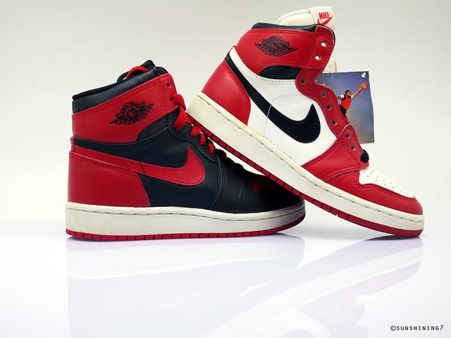 058cff560010 ... Sunshining7 - Nike Air Jordan I (1) 1985 - Sky Jordan Combo White-