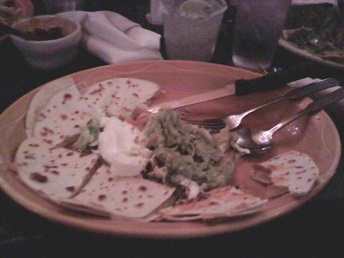 6 of 12: cheese quesadilla | by @HandstandSam