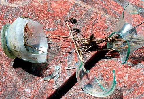 broken vase | by Leonard J Matthews