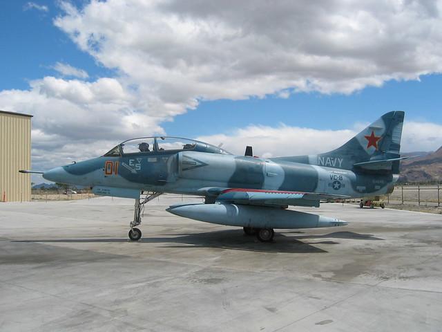 Douglas TA-4J Skyhawk VC-8 Buno 154649