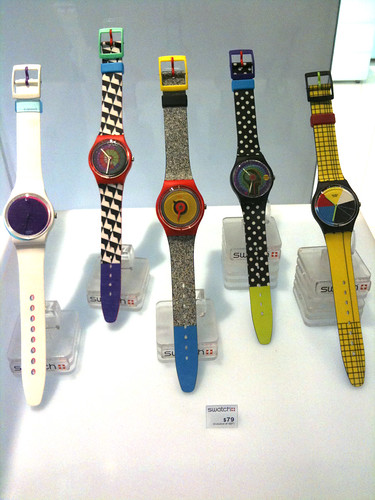 Swatch Color Codes Watch Collection | by chinnian