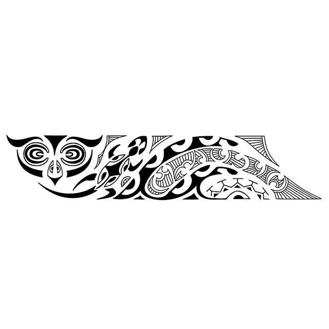 Bracelete Maori Kirituhi Tattoo Polinesia 2000 Desenhos Flickr