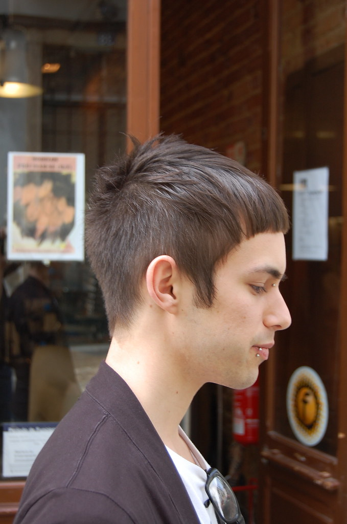 Male Hair Cut With Fringe Haircut By Silvia Wip Hairport Flickr