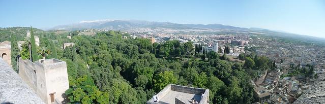 Panorama di Granada 2