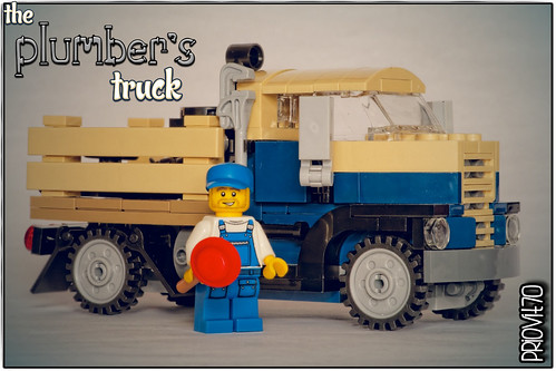 The Plumber's truck | by Priovit70