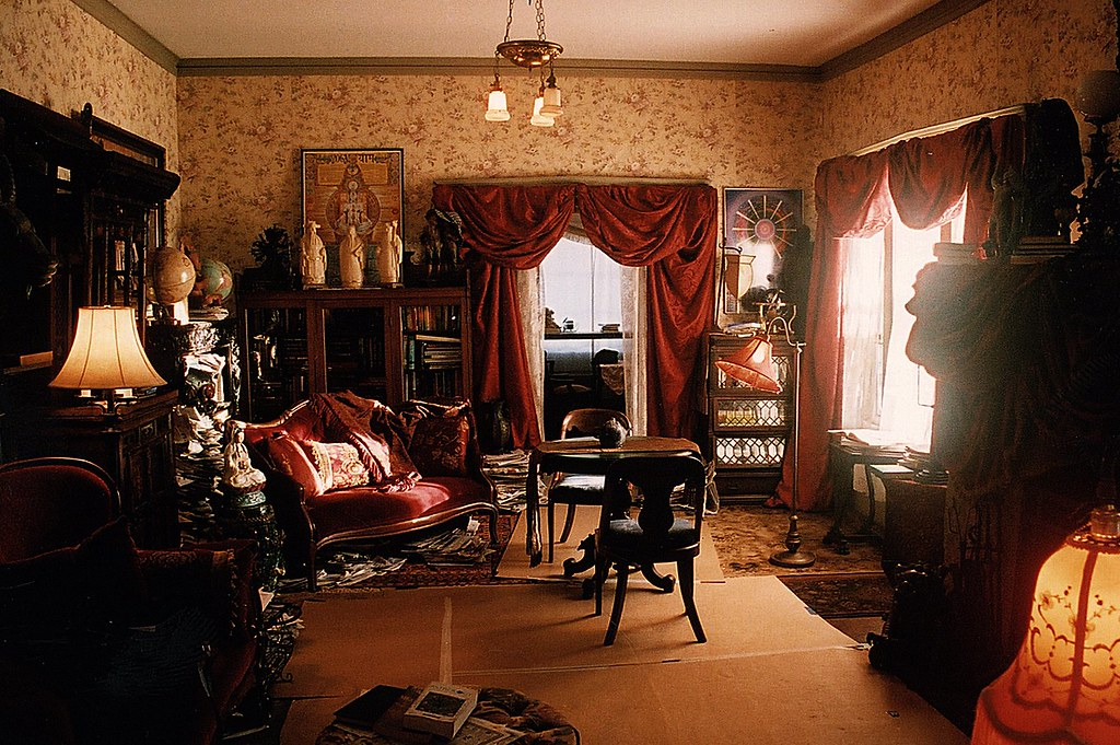 Psychic Eclectic Victorian Living Room Set Decorator Rick ...