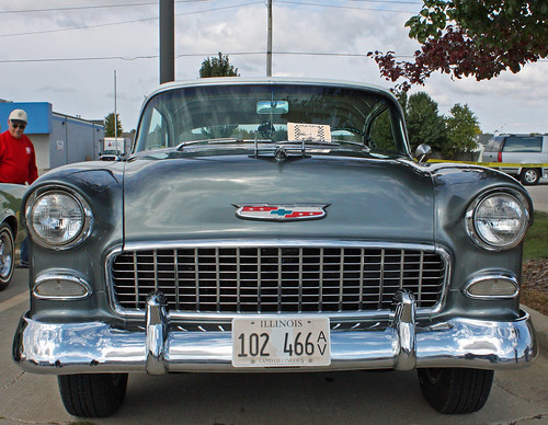 1955 Chevrolet Bel Air 2-Door Hardtop (1 of 9) | by myoldpostcards