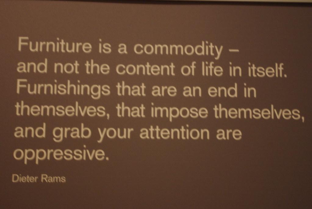 Wisdom of Dieter Rams