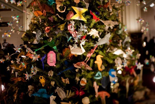NYC:Midtown: Origami Tree