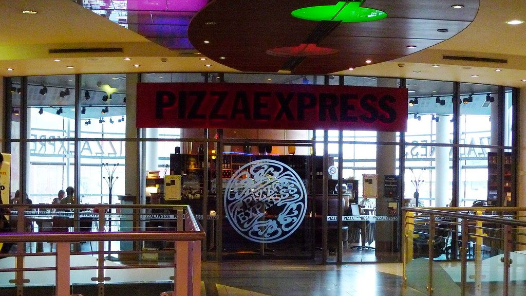 Pizza Express Kingston Kt1 A Branch Of This Chain Restau