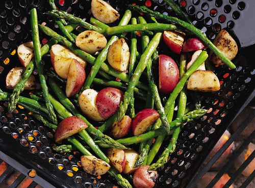 Grilled Asparagus and New Potatoes | by Pillsbury.com