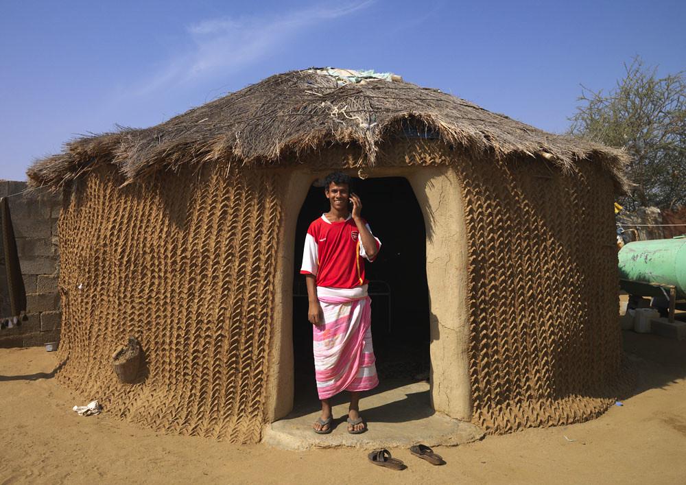 Yemeni Mud House In Jizan Saudi Arabia Many Yemeni