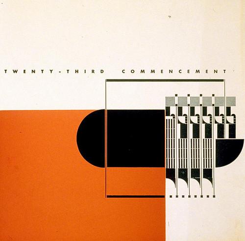 Beverly Hills High School - 23rd commencement (Alvin Lustig, 1940)a   by leiris202
