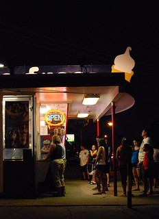 Summer Night: Waiting to Order, Tastee Freez, Berwyn, IL., 2011