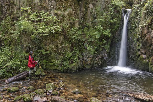 El Chorron del rio Pequeño - Asturias