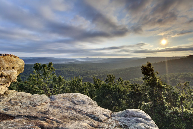 Sunrise, Rocking Rock, White County, Tennessee 1