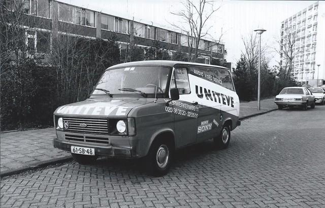 Ford Transit 'Úniteve' 1979