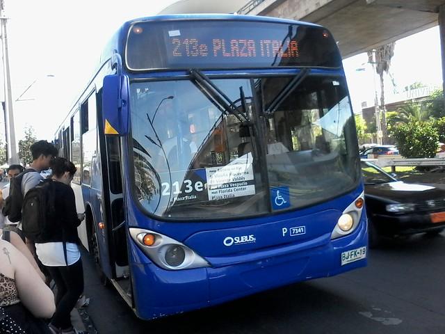 213e - Transantiago | Subus Chile (U2) | Marcopolo Gran Viale / BJFK19