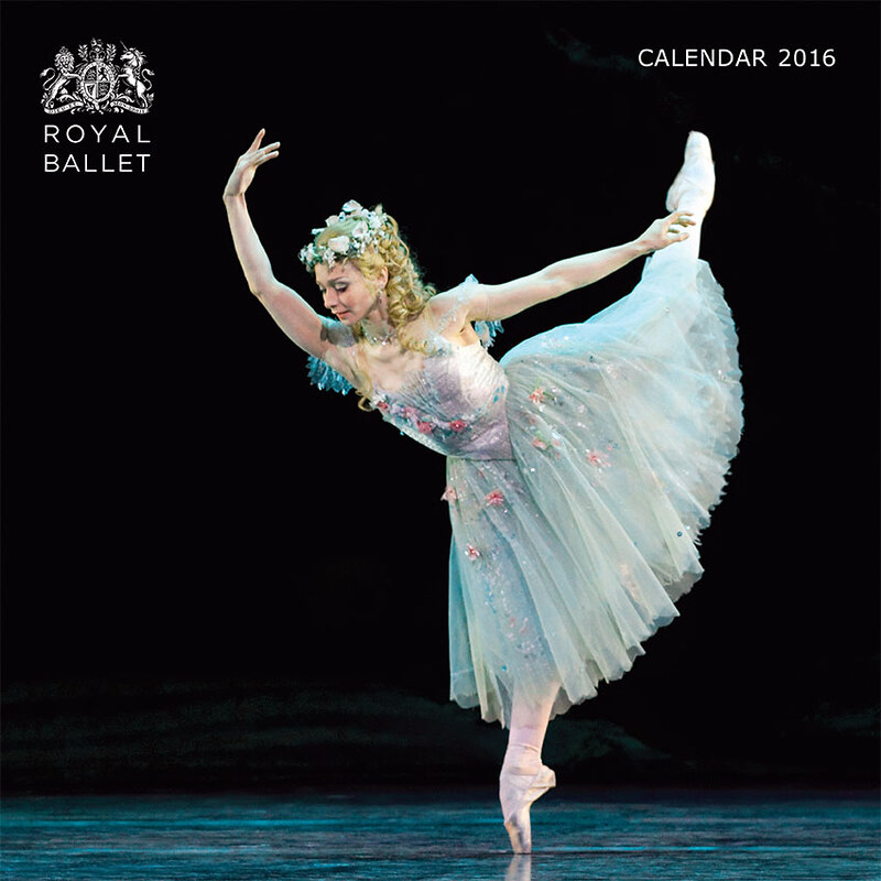 Cover of the 2016 Royal Ballet calendar, produced by Flame Tree Publishing