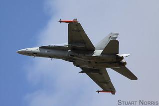 Finnish Air Force F-18C Hornet HN-411 RIAT 2015 | by stu norris