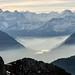 Výhled je totiž 360 stupňů, takže vidíme na Bernské Alpy, na Titlis v centrálním Švýcarsku nebo až do Wallisu, foto: Petr Socha - SNOW