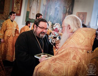 Литургия в Покровском соборе 570